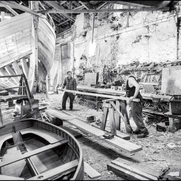Hegarty's Boatyard at the National Maritime Museum Cornwall