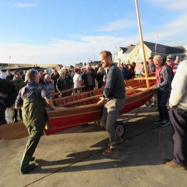 Launch Day in Lyme Regis